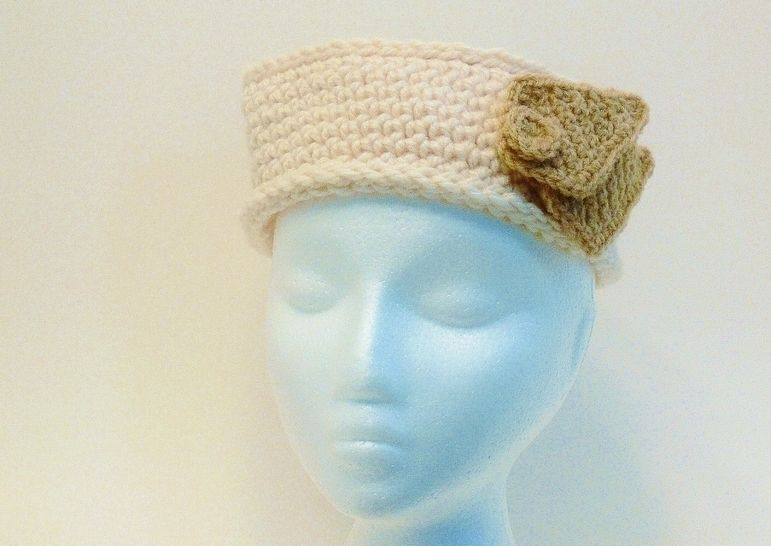Pill Box Hat Chunky Crochet Toddler to Adult XXL # 156