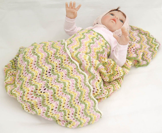 Lantana Baby Blanket- Knitting Pattern