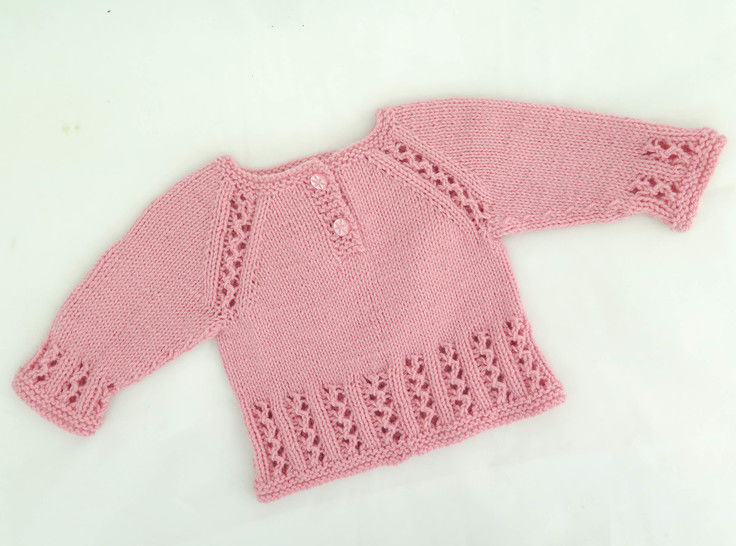 Sweet Lizzie Top Down Pullover