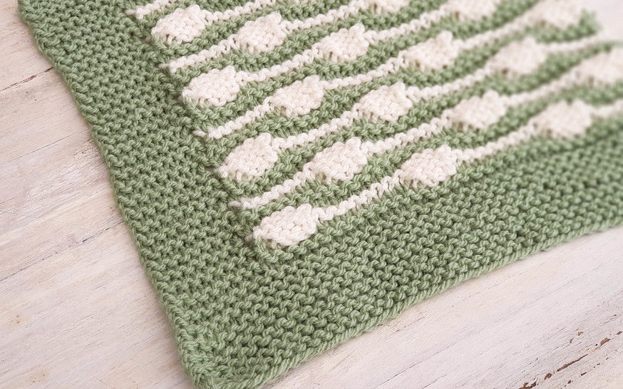 Row Your Boat Baby Blanket - Knitting Pattern