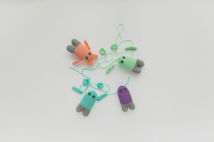 Mini souris kawaii - Patron d'amigurumi de crochet