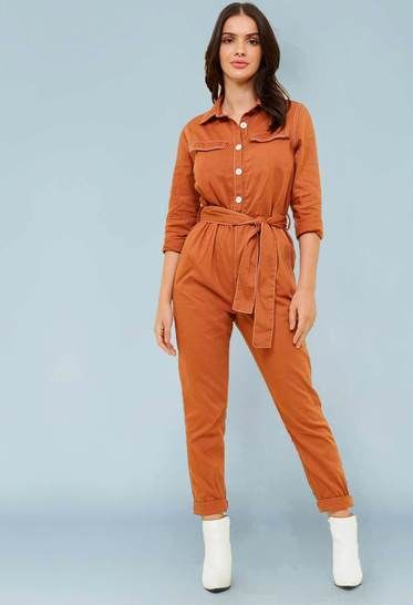 Gimlet Boilersuit // Women's Jumpsuit Sewing Pattern