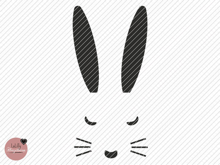 Easter Bunny Svg Bunny Face Studio File Svg