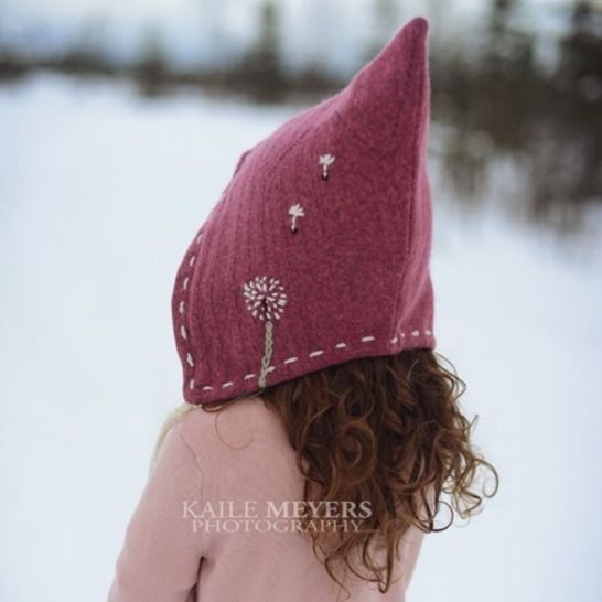 Twig and Tale Pixie Hat - Unisex PDF Sewing Pattern - Sizes Infant to age 10