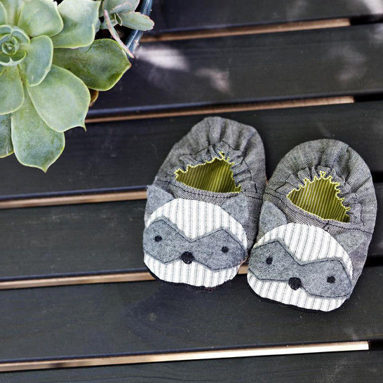 Twig and Tale Animal Baby Shoes - PDF Sewing Pattern
