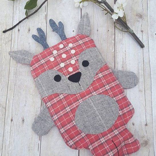 Animal Hot Water Bottle Cover