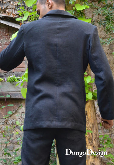 PDF sewing Pattern E-Book Mens Jacket Kool with