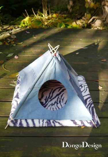 PDF sewing pattern E-Book Pets-Tipi with instructions