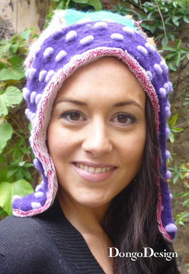 PDF sewing pattern E-Book Eskimo Cap with instructions