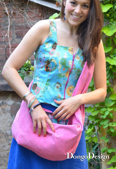 PDF sewing pattern E-Book Kangaroo Bag with instructions