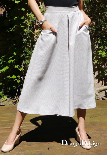 PDF Sewing Pattern Ebook Culottes with sewing instructions