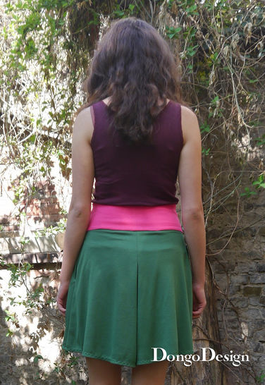 PDF Sewing Pattern Ebook Culotte Nina with instructions