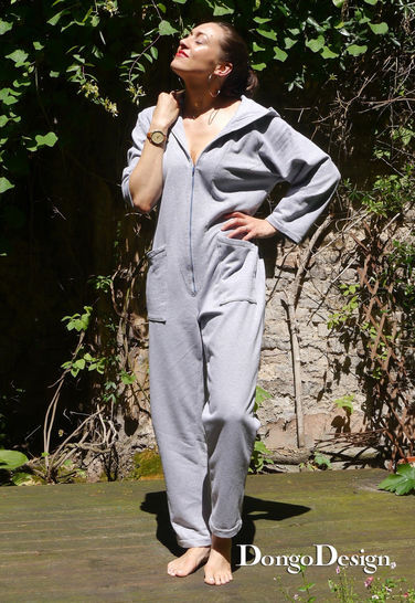 PDF sewing pattern E-Book Jumpsuit Marie with instructions