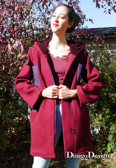 PDF Pattern Ebook Coat Svenja with sewing instructions