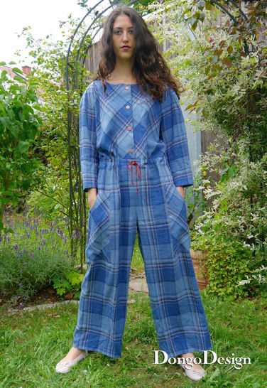 PDF sewing pattern E-Book Jumpsuit Sylt with instructions