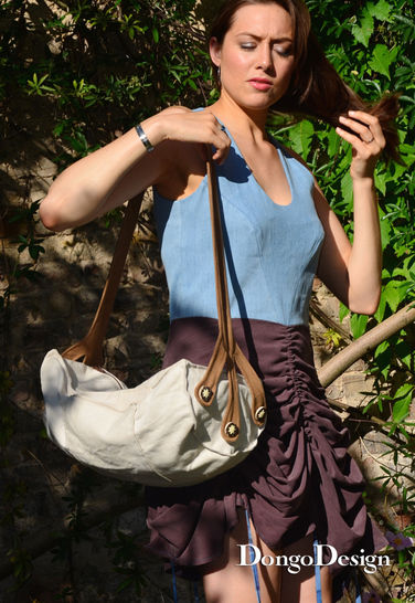 PDF Bag sewing pattern E-Book The Bark with instructions