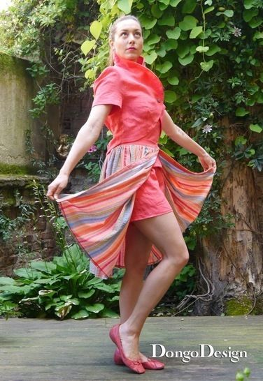 PDF sewing pattern Shorts Marilyn PDF File with E-Book Sewing instructions