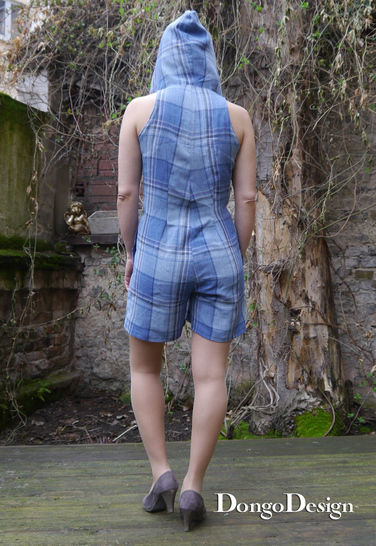 PDF sewing pattern E-Book Jumpsuit Ice-Age with instructions