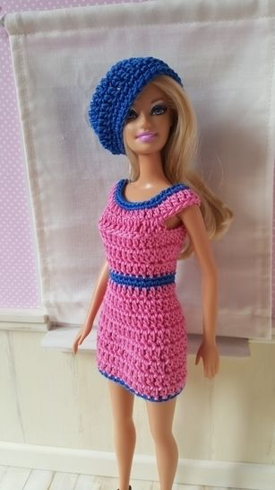 Irina - tenue au crochet - poupée Barbie