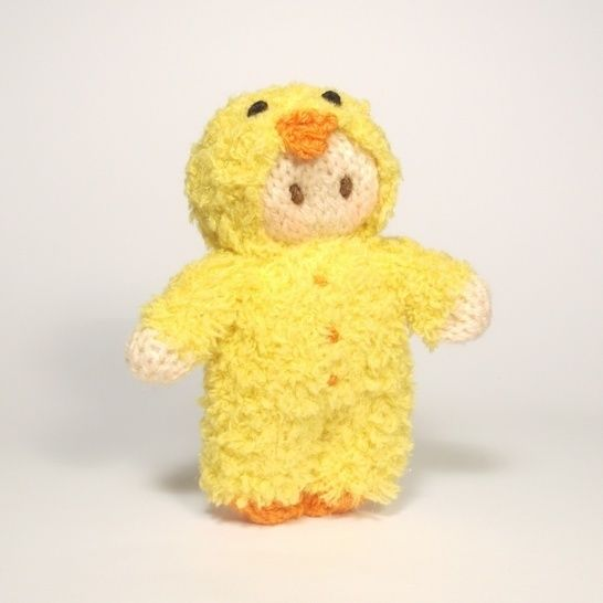 Easter Chick Bitsy Baby Doll