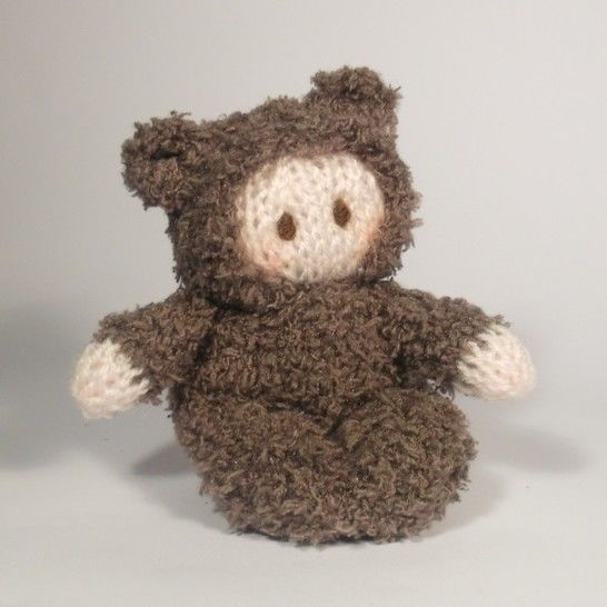 Teddy Bear Bitsy Baby Doll