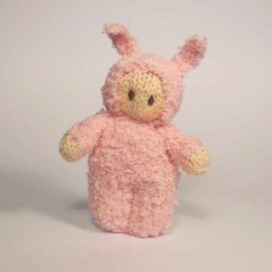 Easter Bunny Bitsy Baby Doll