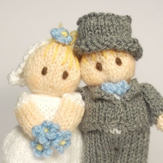 Bride and Groom Wedding Bitsy Baby Dolls
