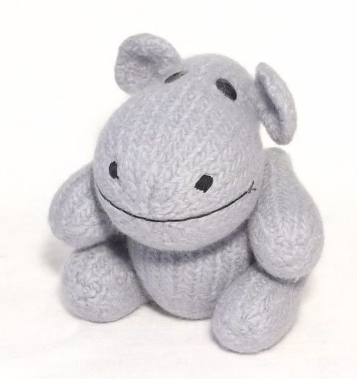 Happy Hippo Toy Knitting pattern