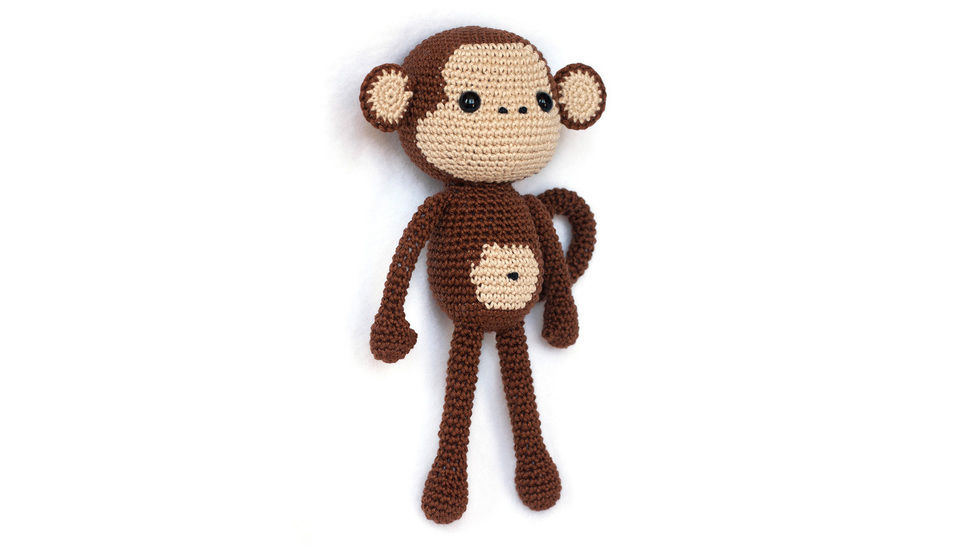 Cute Monkey Amigurumi crochet pattern