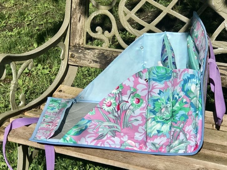 Ultimate carry all bag for sewing and crafts