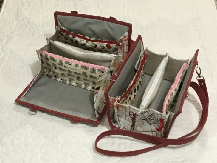 Small clutch for sewing or other crafts
