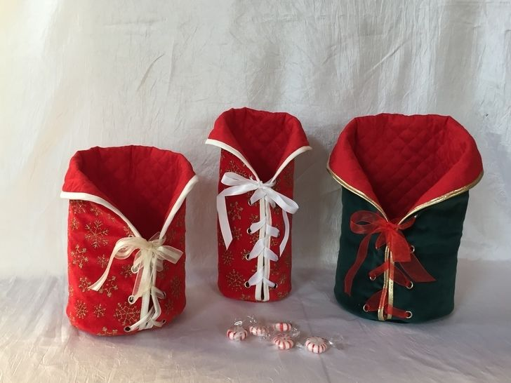 Gift bags, wine bag with lacing