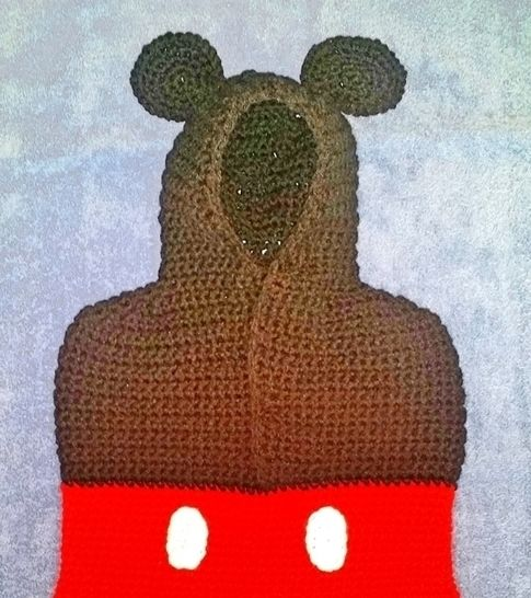 Mickey the Mouse Sack Crochet Pattern