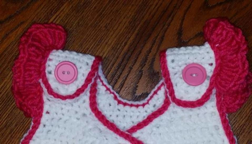 Kissed by a Butterfly Sleep Sack Crochet Pattern