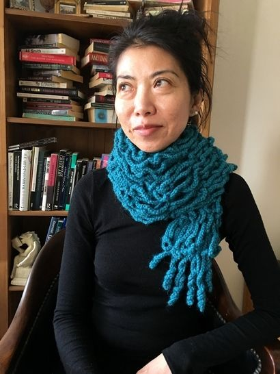 Crochet Scarf Pattern for Women PDF (Spaghetti Scarf)