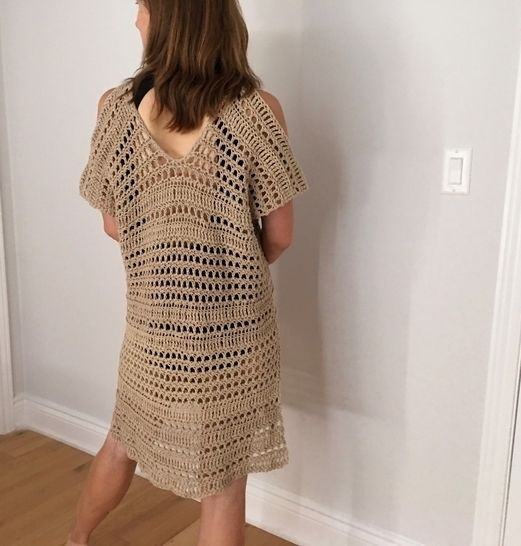 Bathing Suit Coverup Pattern PDF (Bustling Beach Cover-Up)