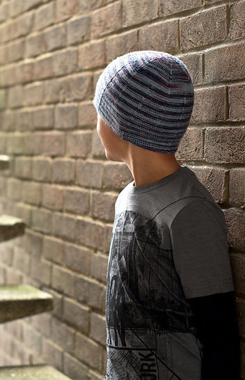 Aileron beanie hat - knitting pattern