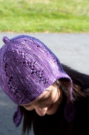Lucy earflap hat - knitting pattern