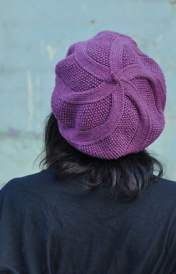 Coldharbour Twist beret - knitting pattern