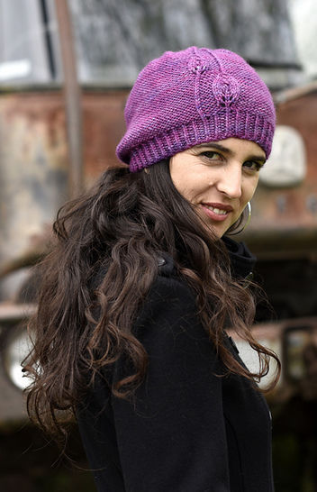 Fabales beanie hat - knitting pattern
