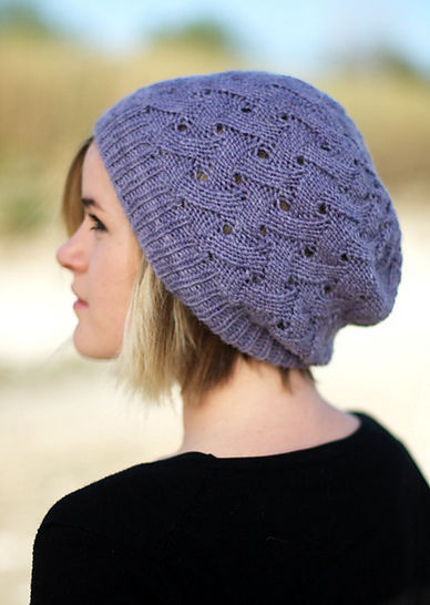 QL Slouch Hat - knitting pattern