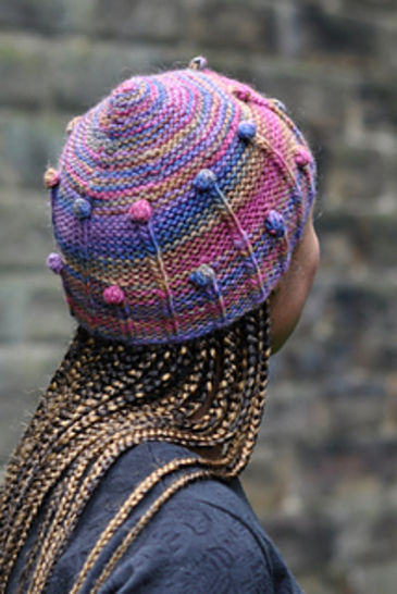 Giostra beanie hat - knitting pattern