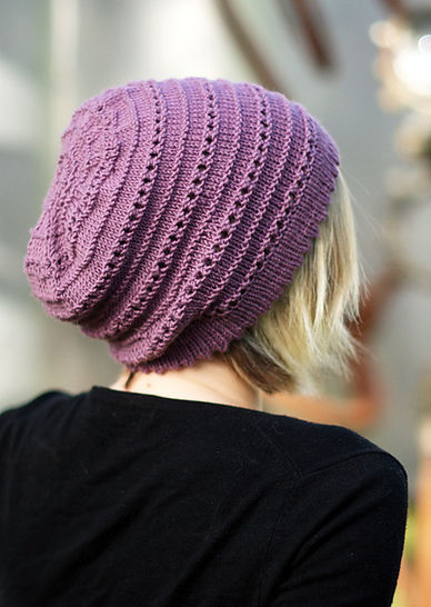 Tebe Slouch - knitting pattern