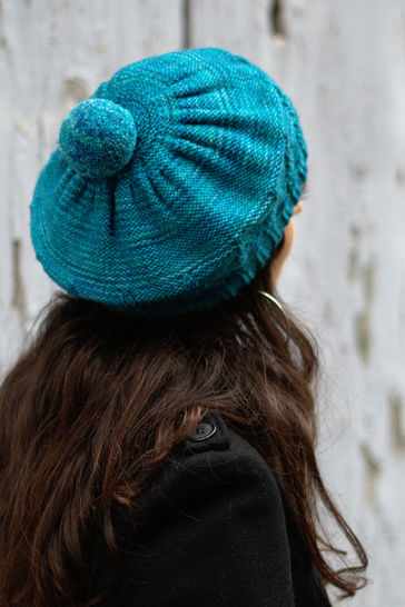 Armley beret - knitting pattern