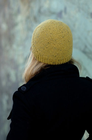 Half Theory beanie - knitting pattern