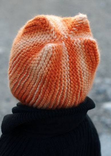 Jimster pixie hat - knitting pattern
