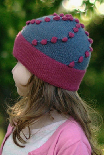 Morea beanie hat - knitting pattern