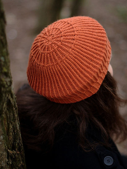Concentricity beret - knitting pattern