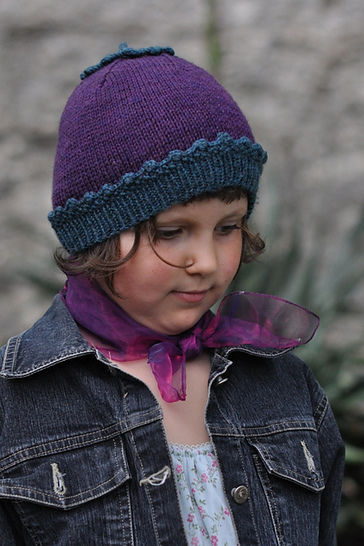Sproutling beanie hat - knitting pattern