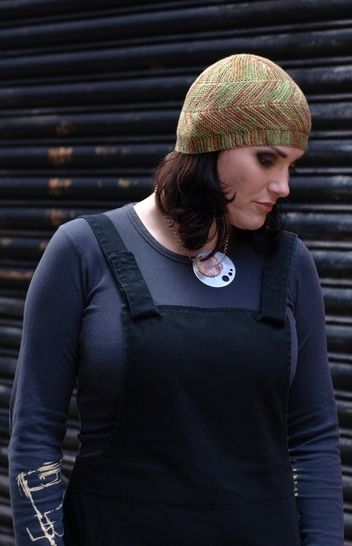Dancette beanie - knitting pattern